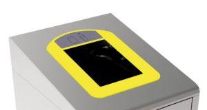 T789036 Cornice gialla per Contenitore Gettacarte per la raccolta differenziata T789020-T789050