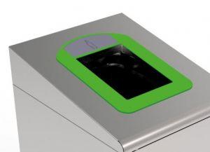 T789038 Cornice verde per Contenitore Gettacarte per la raccolta differenziata T789020-T789050