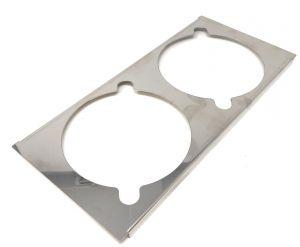 VGCV-GESUP soporte de acero inoxidable para 2 mini carapinas