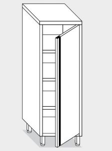 14200.05 Armadio verticale g40 cm 50x60x160h porta a battente - 3 ripiani interni regolabili